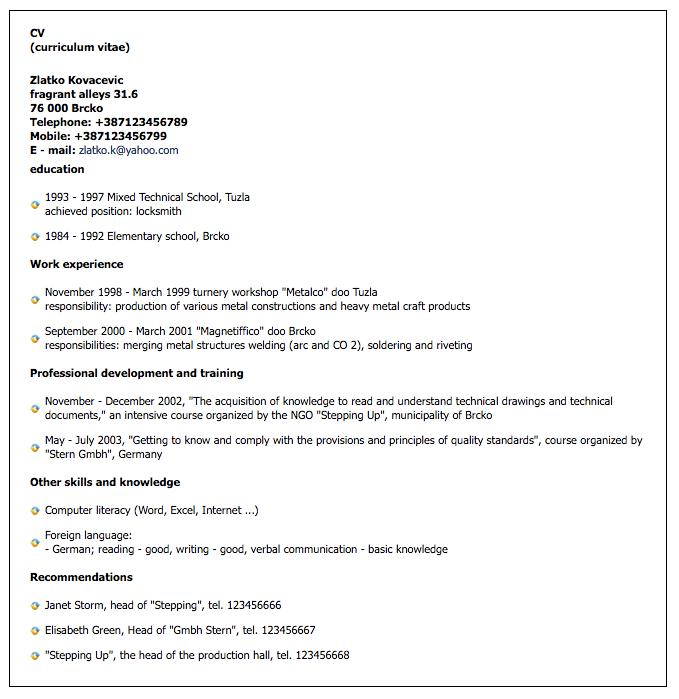 Heavy Metal Craft Resume Sample Free Resume Sample Resume Template Examples Resume Design Template Resume Template Free