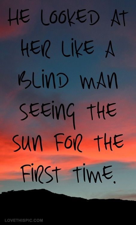 he looked at her love love quotes quotes sunset clouds love quote