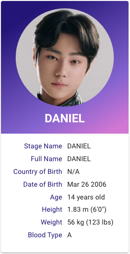 I Land Daniel Kim Kpop Profiles My Land Daniel Kpop Profiles