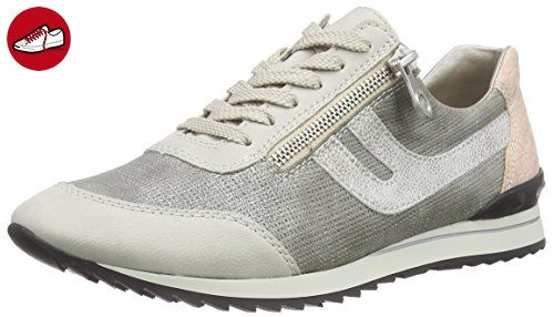9e050e9d1e47 Rieker 56811, Damen Sneakers, Grau (ice shark white-silver rose 81 ...