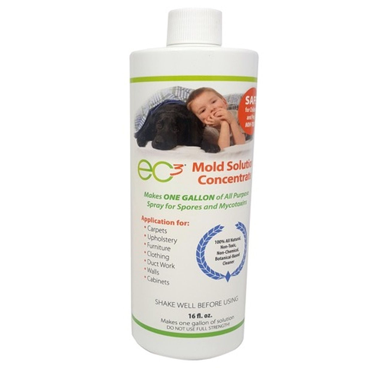 Ec3 Mold Solution Concentrate In 2020 Mold Remover Mold Exposure Mold Allergy