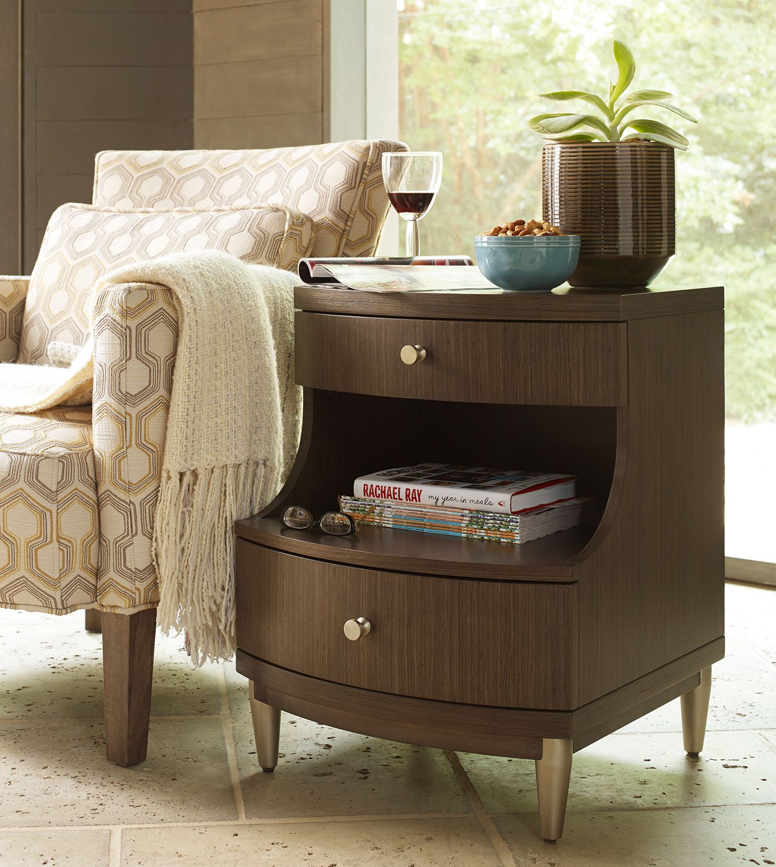Modern Chairside Table Chairside Table Rachael Ray Home House 43 Home Chair
