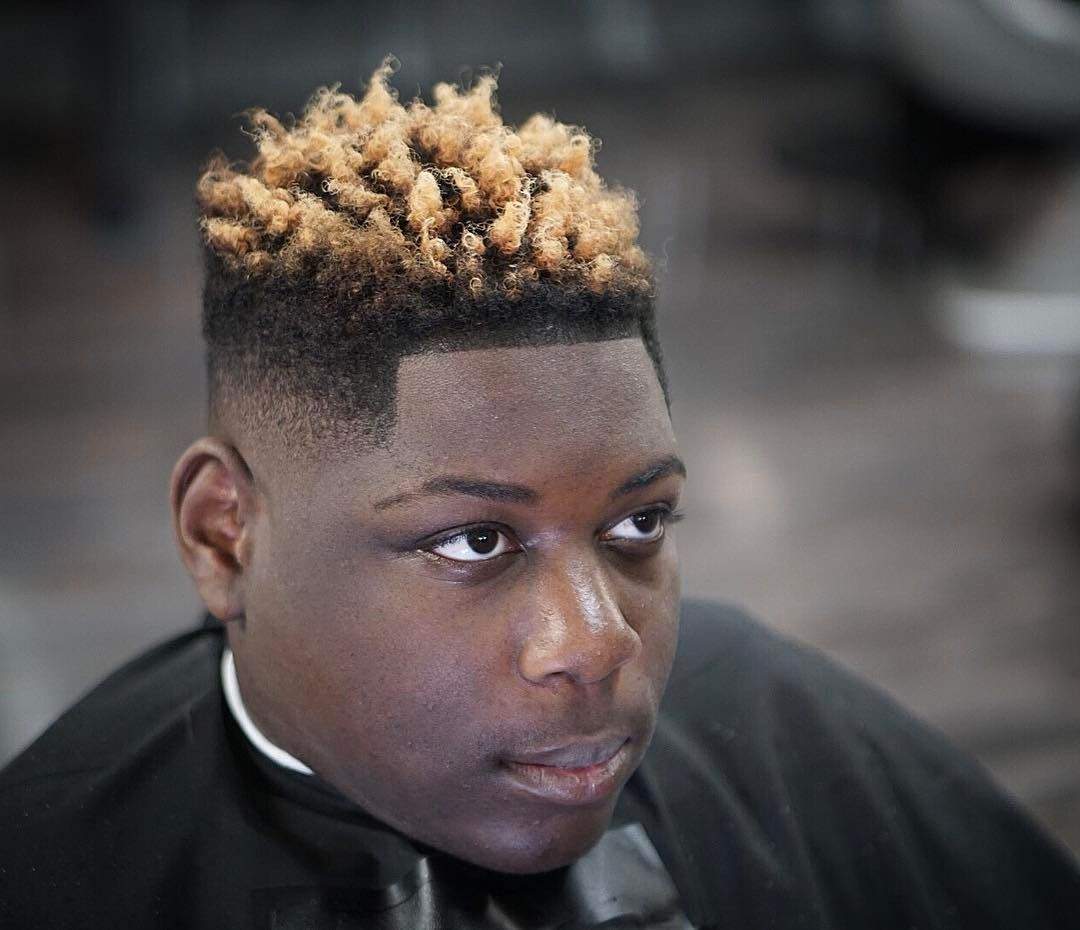 african american nudred fade haircut