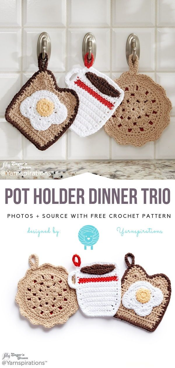 Fun Crochet For Kitchen Free Patterns