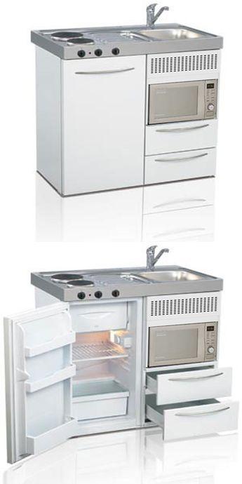 Mini kitchen, compact kitchen, tiny kitchen, small kitchen, space ...