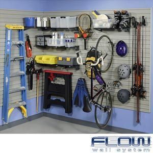 Merveilleux Flow Wall Slat Wall Storage System For Garage.