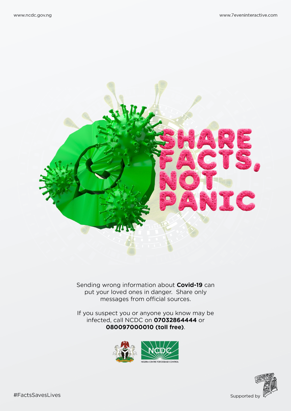 Print advertisement created by 7even Interactive, Nigeria