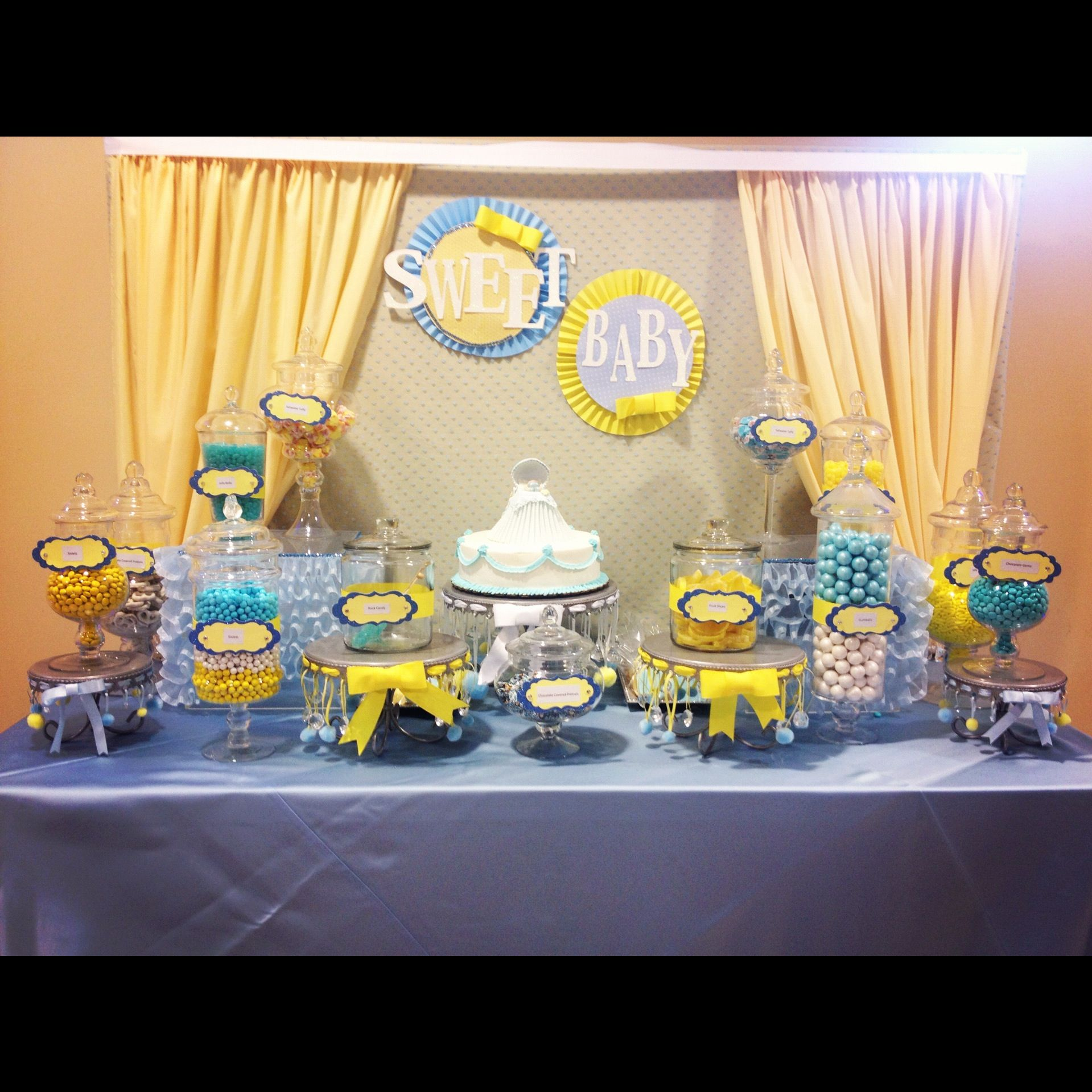 Candy Station Candy Buffet Ideas Pinterest Baby Shower Candy