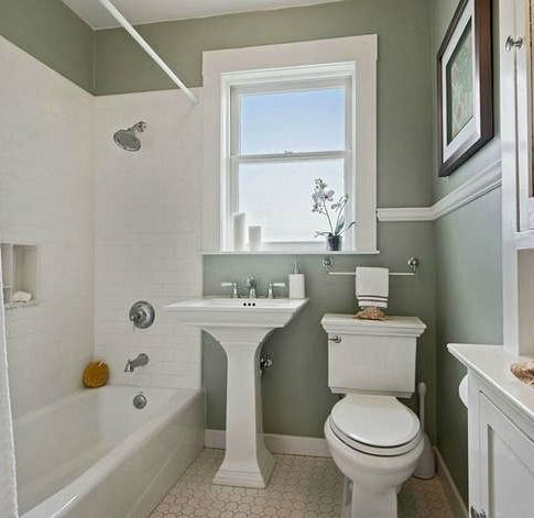9 Ways To Make Your Old Bathroom New Again Small Bathroom Old