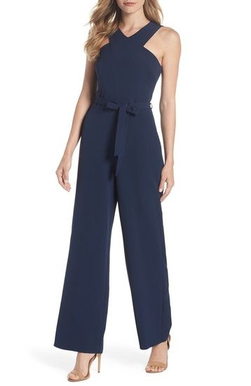 Shop the Look from Junebug Weddings on ShopStyleNavy Dorothy Perkins bridesmaid jumpsuit