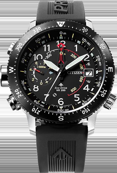 8a3c4dc8cdb Citizen Eco-Drive Promaster Men s Altichron Diver s Strap Watch ...