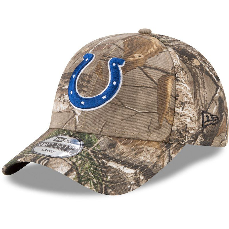 meet sale san francisco Indianapolis Colts New Era Realtree 49FORTY Fitted Hat - Realtree ...