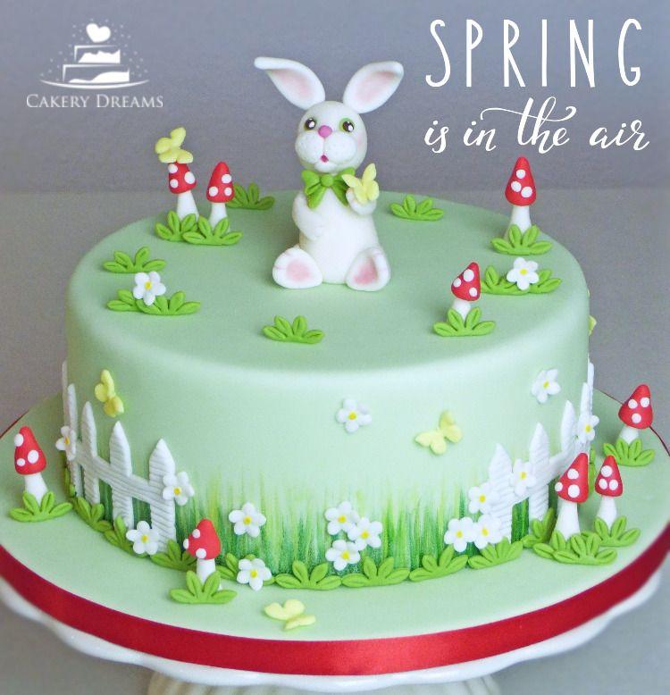 Motivtorte Zum Thema Fruhling Motivtorte Ostern Fruhling Hase Cake Bunny Easter Fondant Cakerydreams Motivtorten Ostern Osterkuchen Urlaub Kuchen