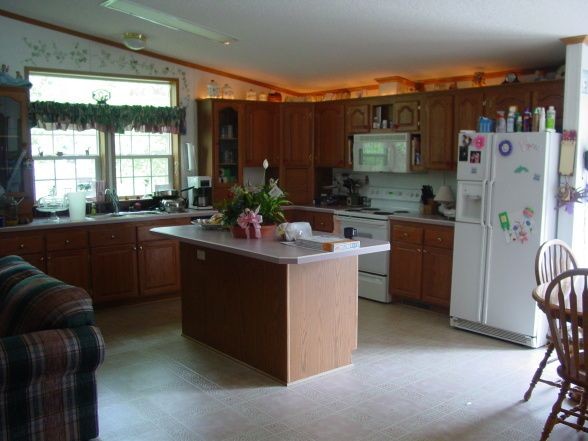 Great manufactured home kitchen remodel ideas kitchens for Mobile home remodel before and after