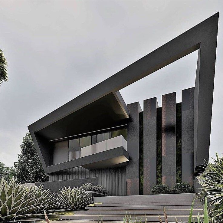 Luxurious Modern Houses On Instagram Luxuriousmodernhouses I The Best Interior Exterior Design Experie Architecture House Design Modern House Exterior