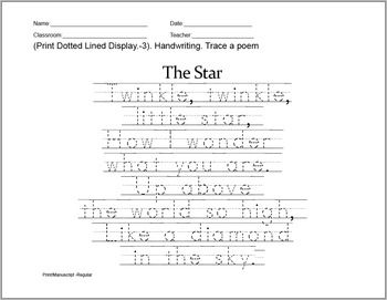 With this ABC Print Dotted Lined Font, especially designed