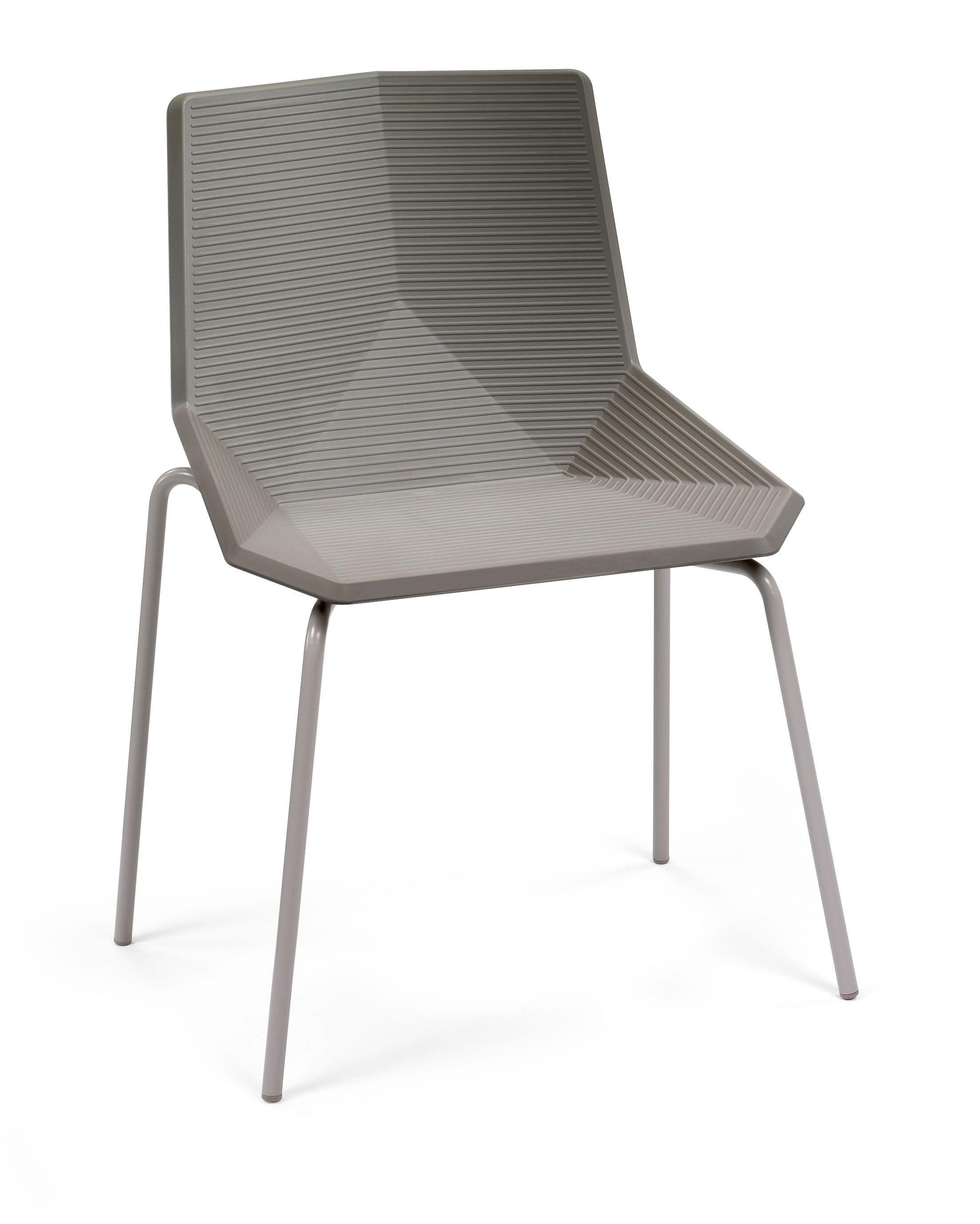 Jetzt bei Desigano.com Green eco Stuhl mit Metallgestell Sitzmöbel ...