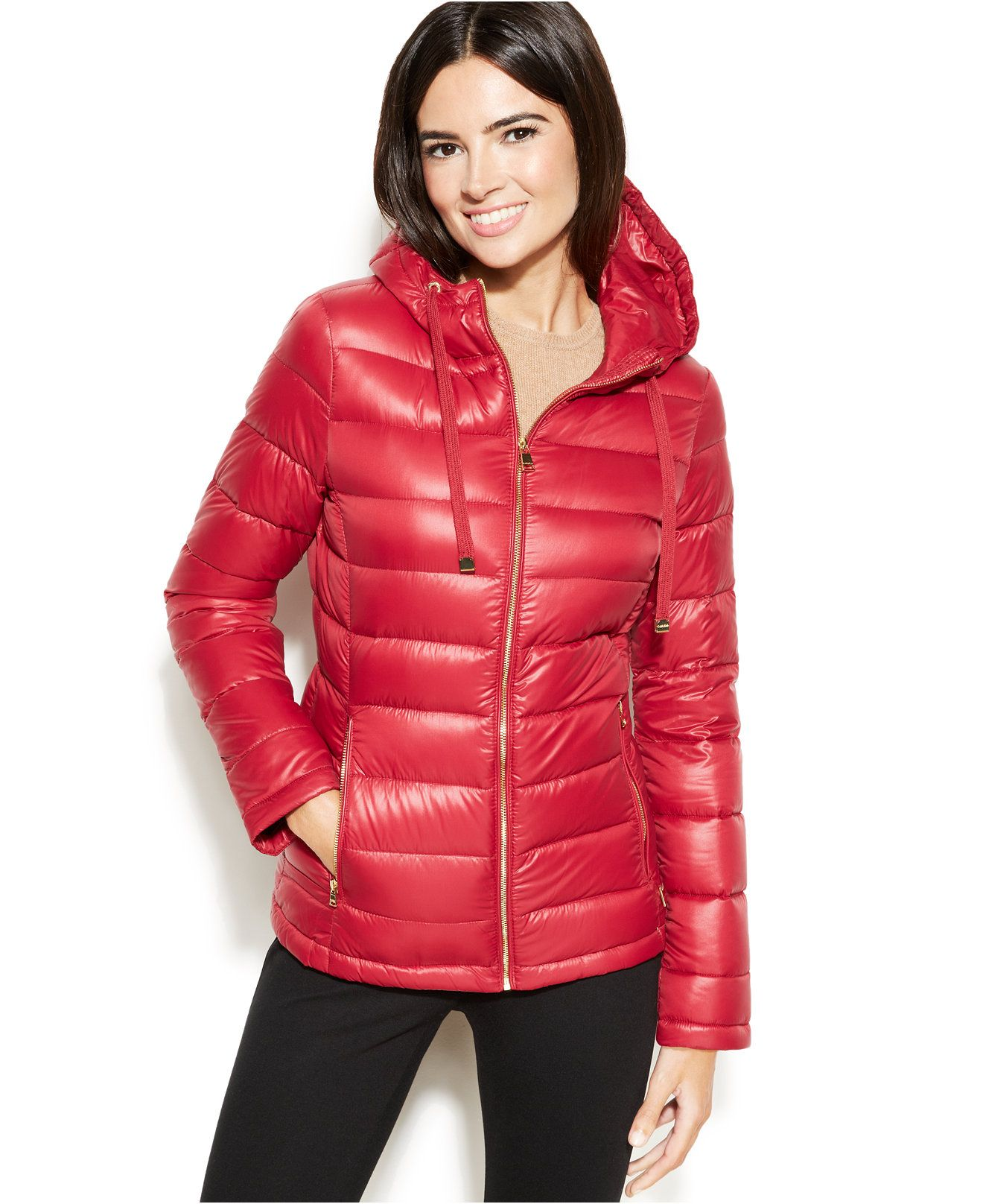 Change Your Look In An Instant With Calvin Klein S Packable Quilted Puffer Its Lightweight Fill Keeps You Warm Without The Weight [ 1616 x 1320 Pixel ]
