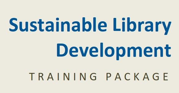 """Sustainable Library Development Training Package 