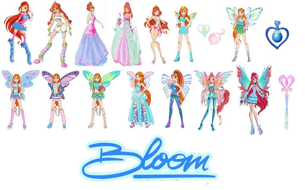 Bloom Charmix Enchantix Believix Harmonix Sirenix Bloomix Mythix Bloom Winx Club Winx Club Bloom
