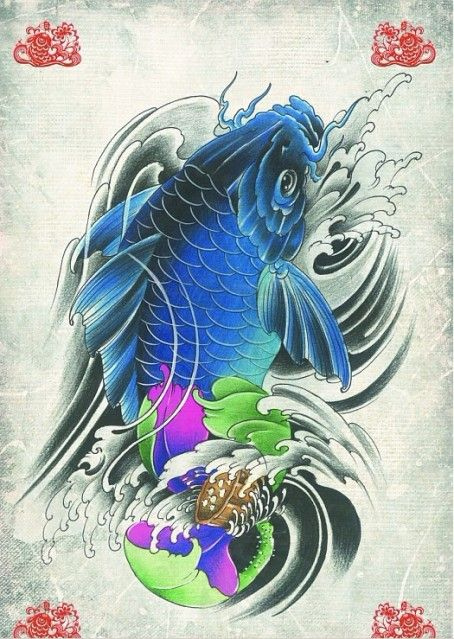 Cool koi tattoos google search art ink and for Cool koi fish