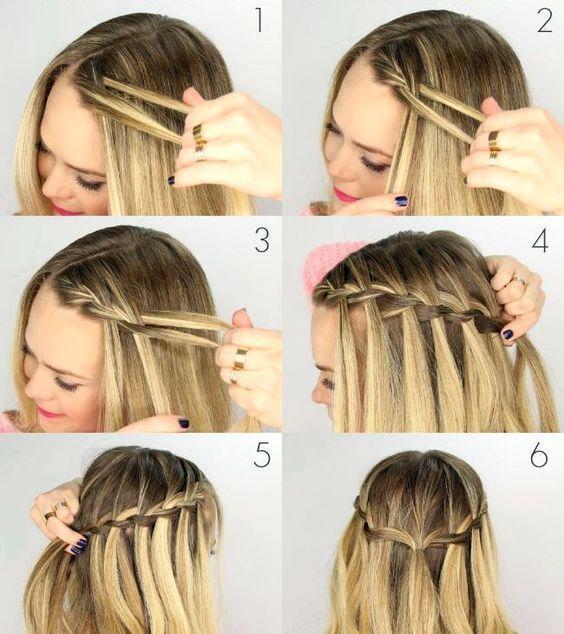 170 peinados simples paso a paso El peinado del cabello te permite destacar entre la multitud – Nuevo sitio