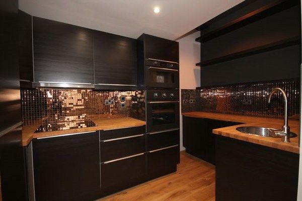 Black And Copper Kitchen Ideas Modern Extravagant And Bold