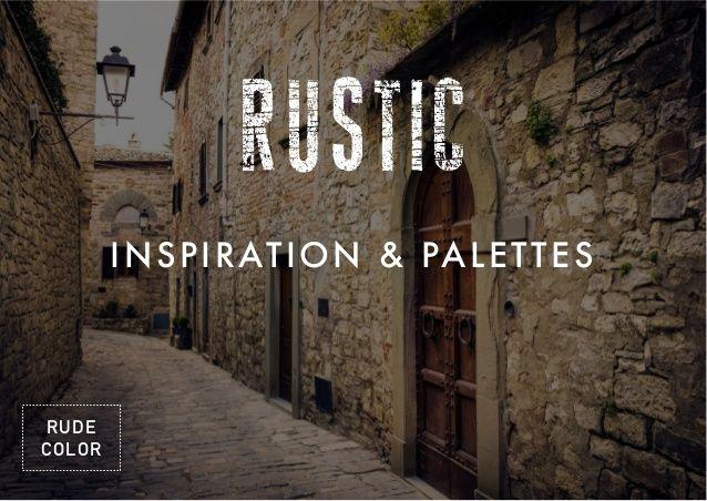 Rustic Web Design Inspiration