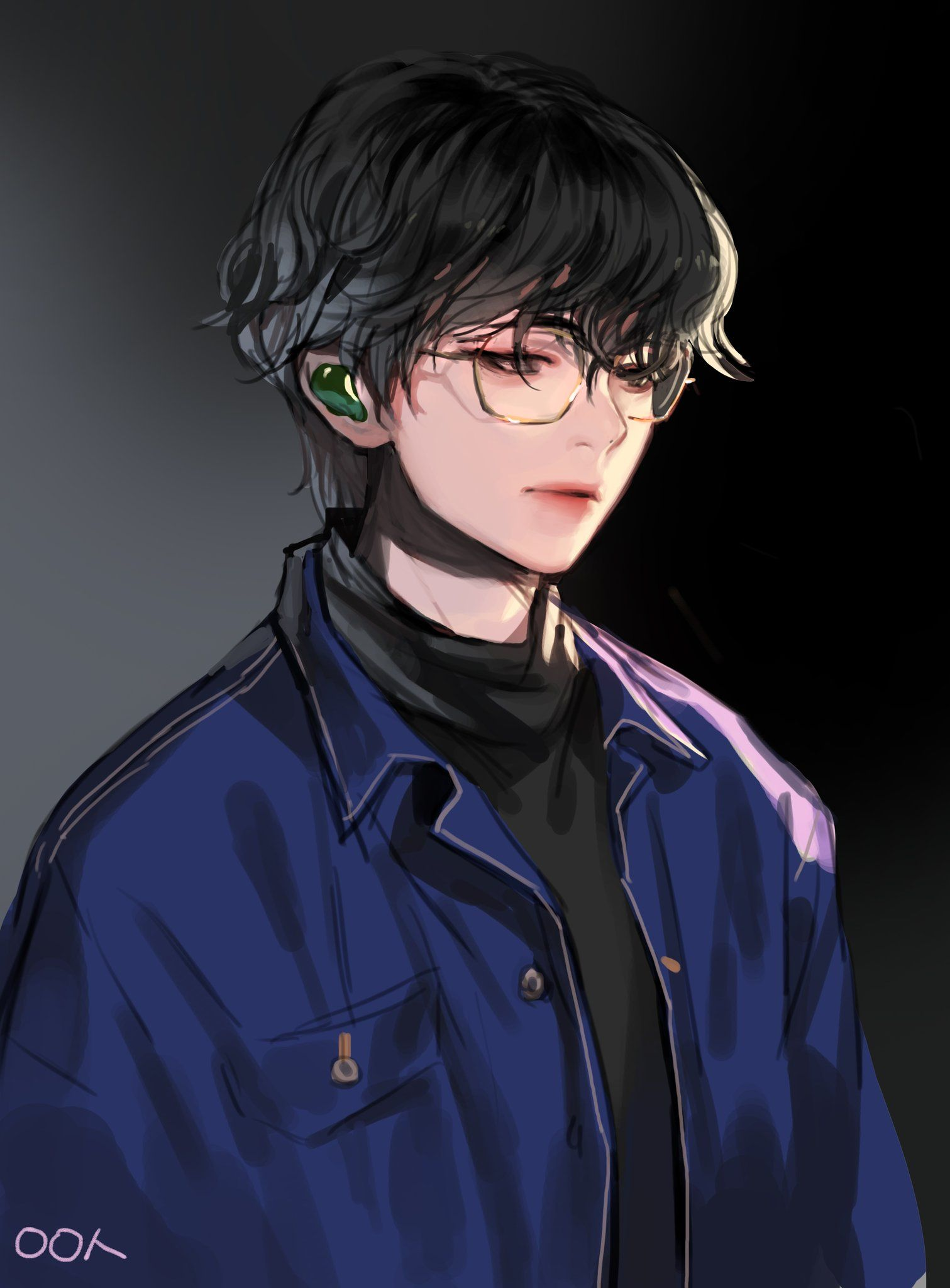 으앙슝 on Taehyung fanart, Bts chibi, Bts drawings