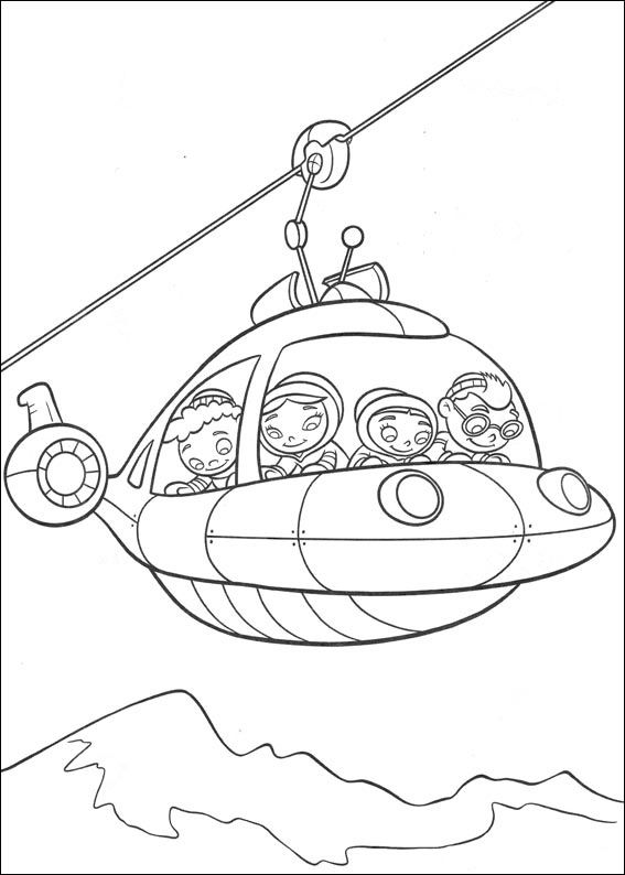Little Einsteins Coloring Pages 25 | Cake decorating | Pinterest ...