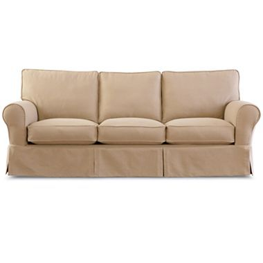 Whiter Than This With Images Slipcovered Sofa Slipcovers Sofa