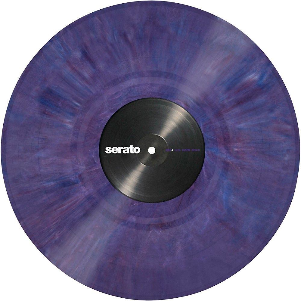 Serato 12 Inch Control Vinyl Performance Series Official Jacket Pair Vinyl Vinyl Records Purple