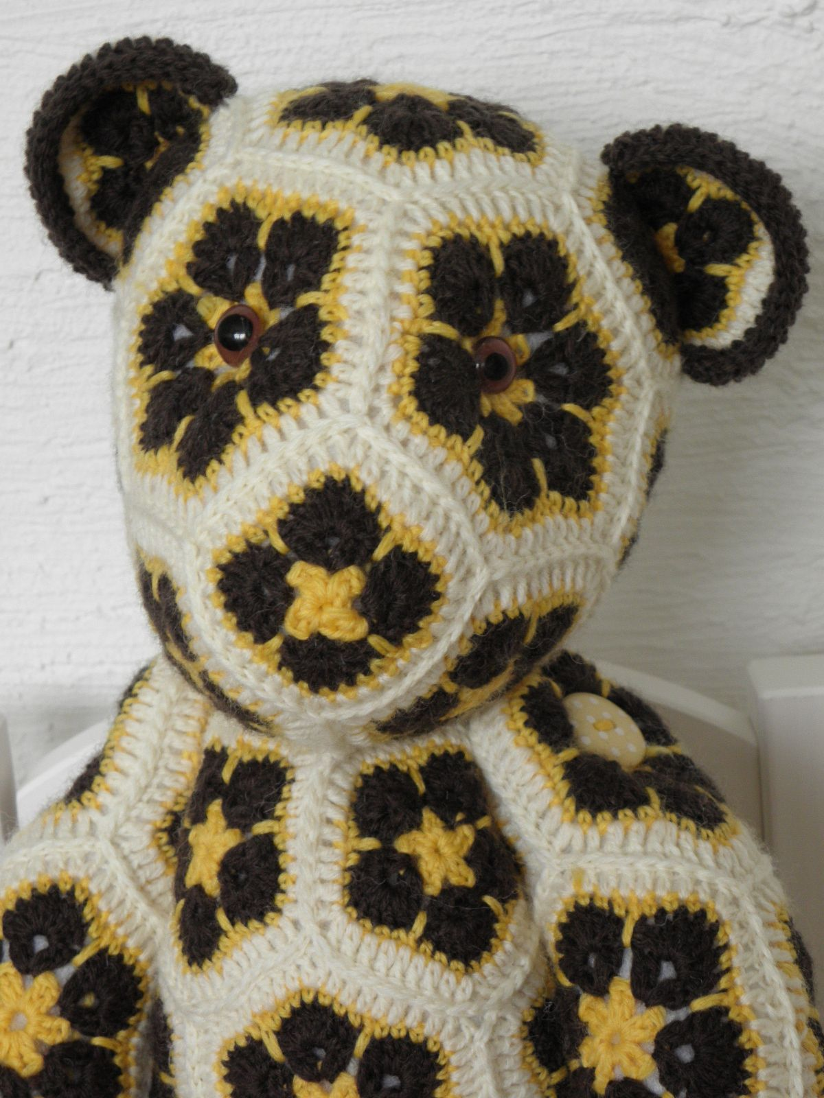 Lollo the african flower bear | Crochet | Pinterest