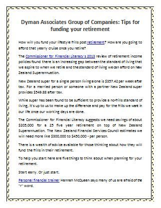 Tips For Funding Your Retirement Financial Literacy Retirement