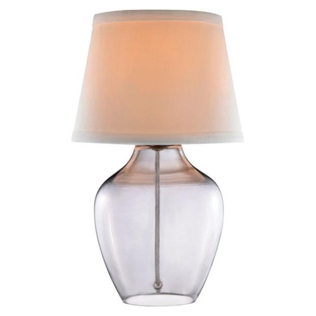 Decor Glass Accent Tables Lamp, Doe Li Touch Lamp