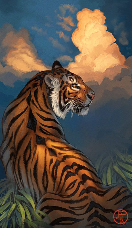 Balaa S Deviantart Gallery Cat Art Big Cats Art Tiger Painting