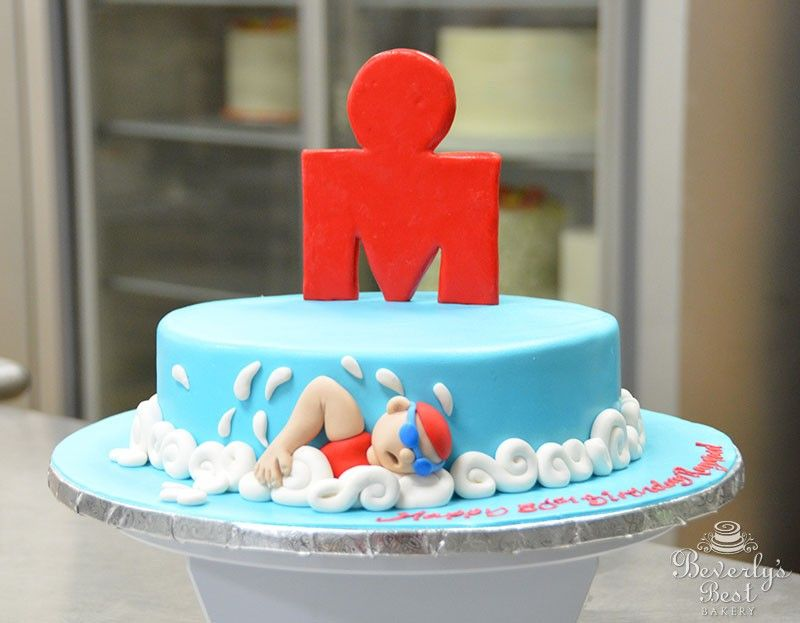 Ironman Cake by Beverlys Bakery Grownup Party Cakes