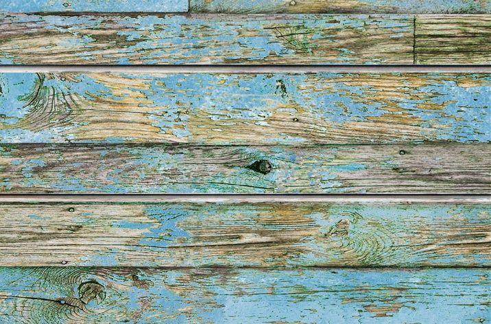 Blue Old Painted Wood Textured Slatwall Designer Slat Wall Panels Painted Wood Texture Slat Wall Painting On Wood