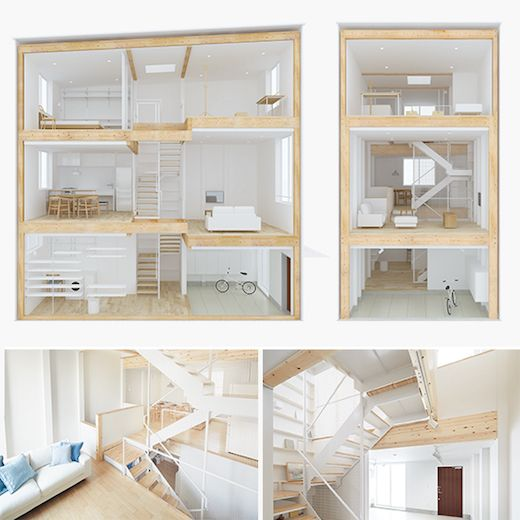 New Muji Vertical House Is Only Fourteen And A Half Feet: Simplifying And Minimizing Is The Key To More Sustainable