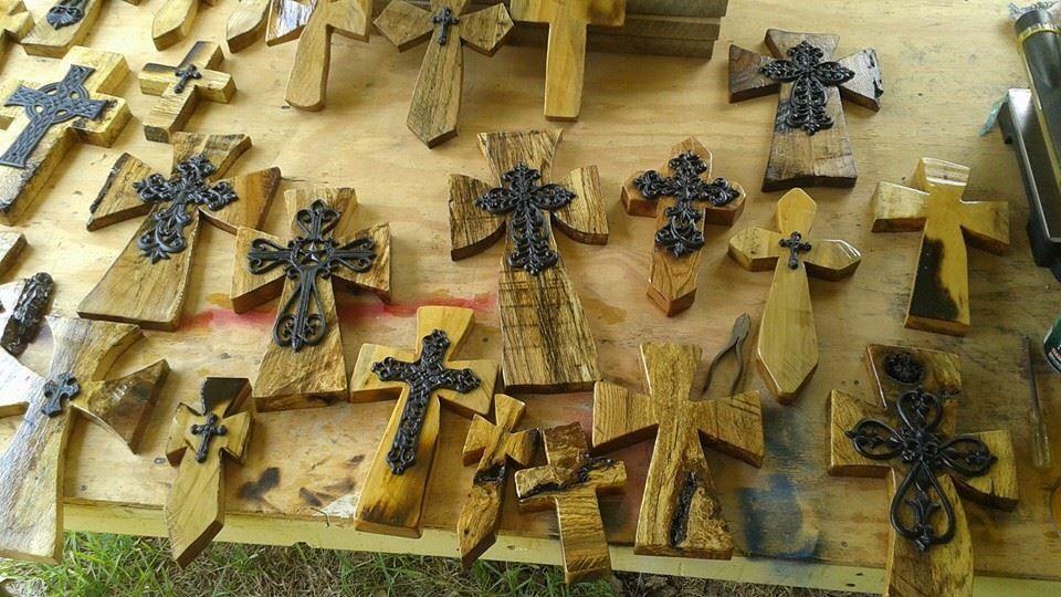 Wooden/iron crosses