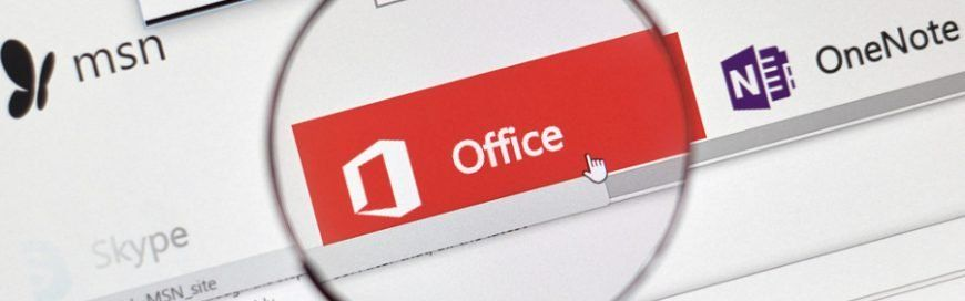 Tracking and analyzing data with Office 365 Infographic