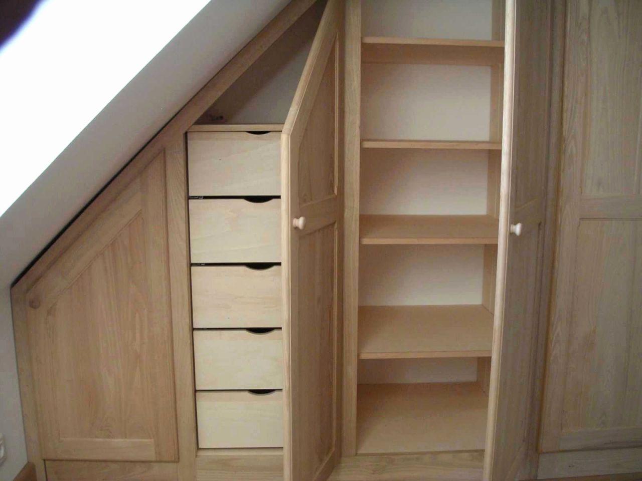 20 Dressing Sous Pente Alinea Loft Storage Bedroom Loft Understairs Storage