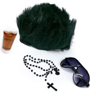 1795 Jersey Guido Costume Kit With Fake Tanner