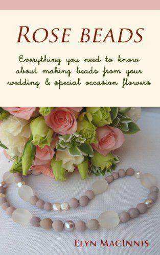 Perlas hechas con petalos de rosas