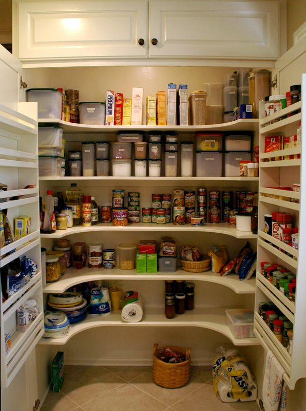 Wow - I need this Pantry! -Kitchen Cabinets, Shelves, and ...