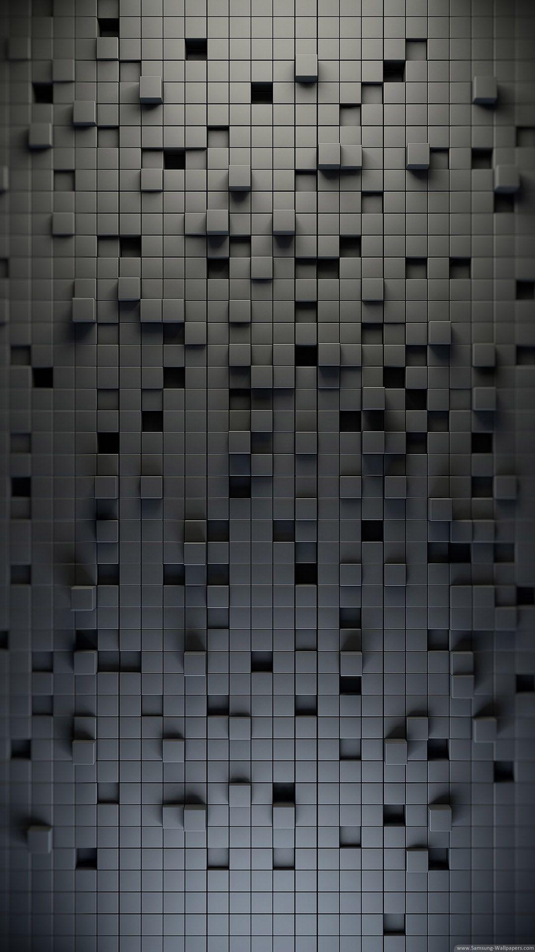 3d Black Lattice Pattern Iphone 6 Plus Hd Wallpaper Ipod Wallpaper