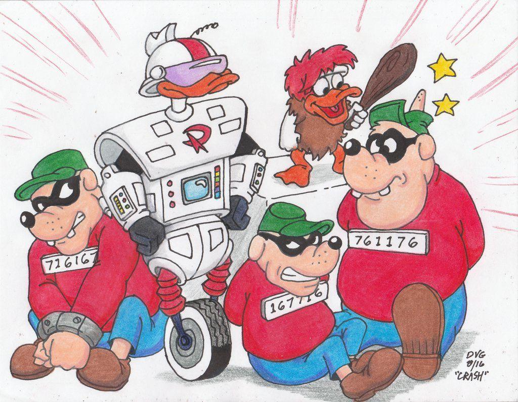 Captured Beagle Boys By Crash2014