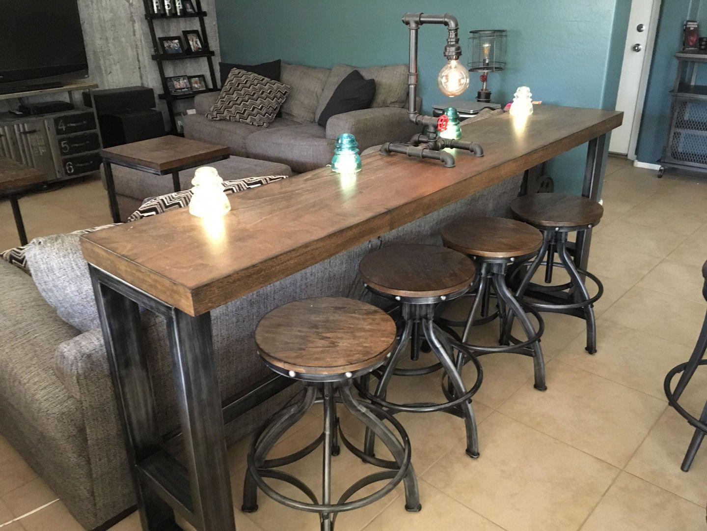Chandler Sofa Bar Table Kitchen Bar Table Bar Table Behind Couch Bar Table
