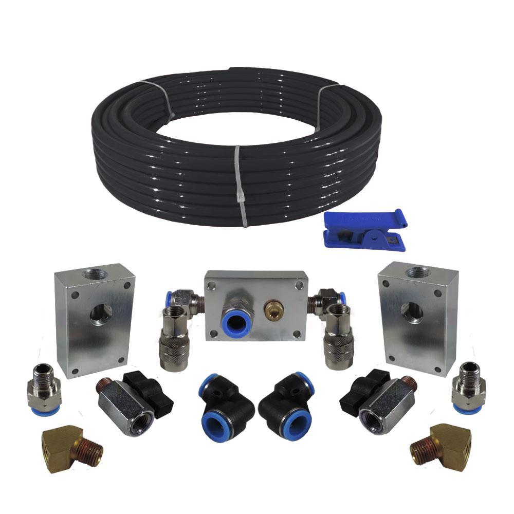 Husky Husky Air Compressor Extension Kit Has 100kit The Home Depot In 2020 Air Compressor Tubing Cutter Compressor