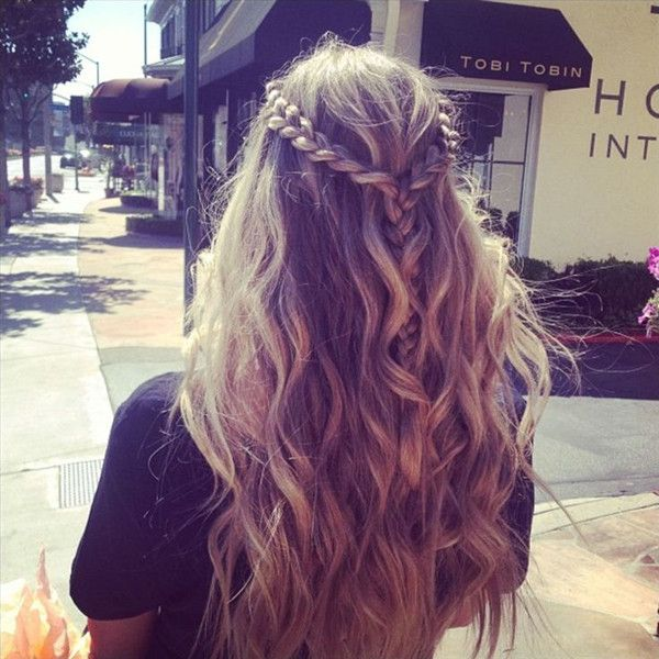 8 Romantic French Braided Hairstyles for Long Hair, You Cannot ...